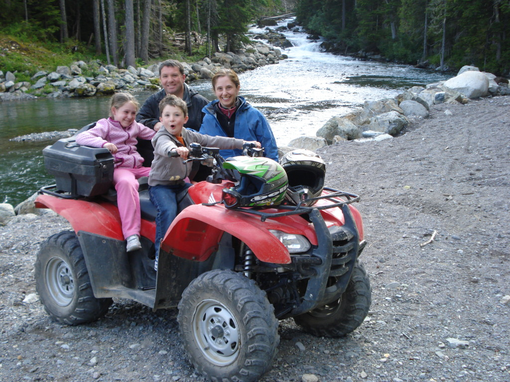 Photo of the Blais Family in Whistler, BC by Steve Blais REMAX